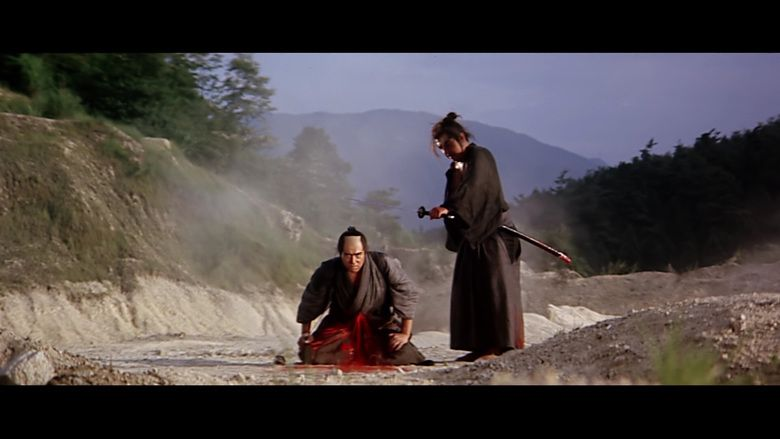 Lone Wolf and Cub: White Heaven in Hell movie scenes