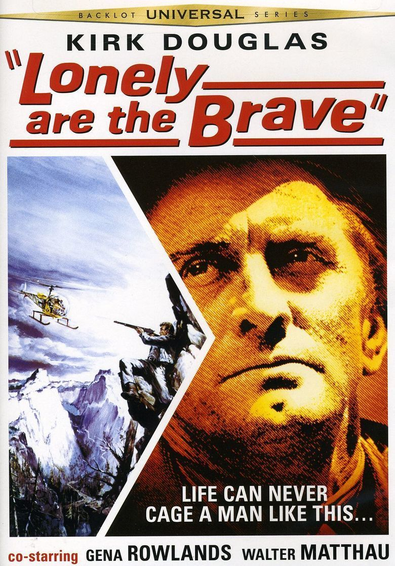 Lonely Are the Brave movie poster