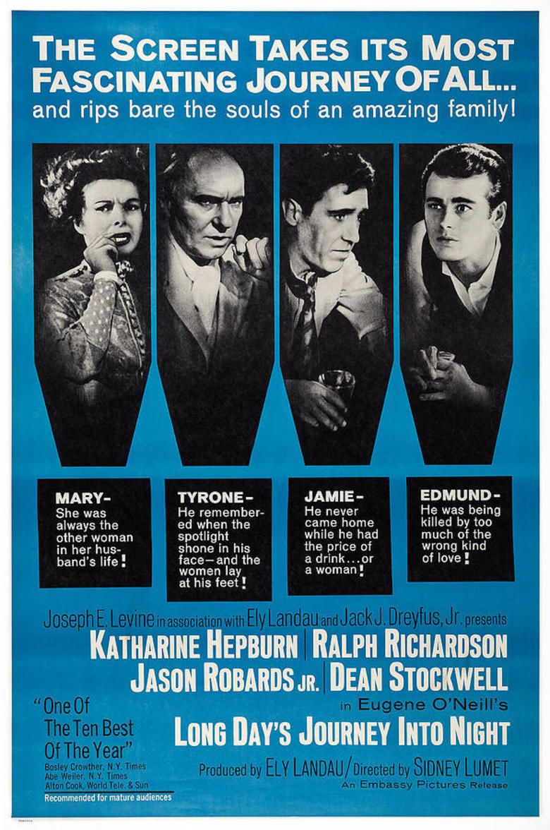 Long Days Journey into Night (1962 film) movie poster