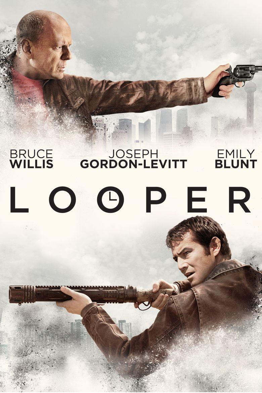 Looper (film) movie poster