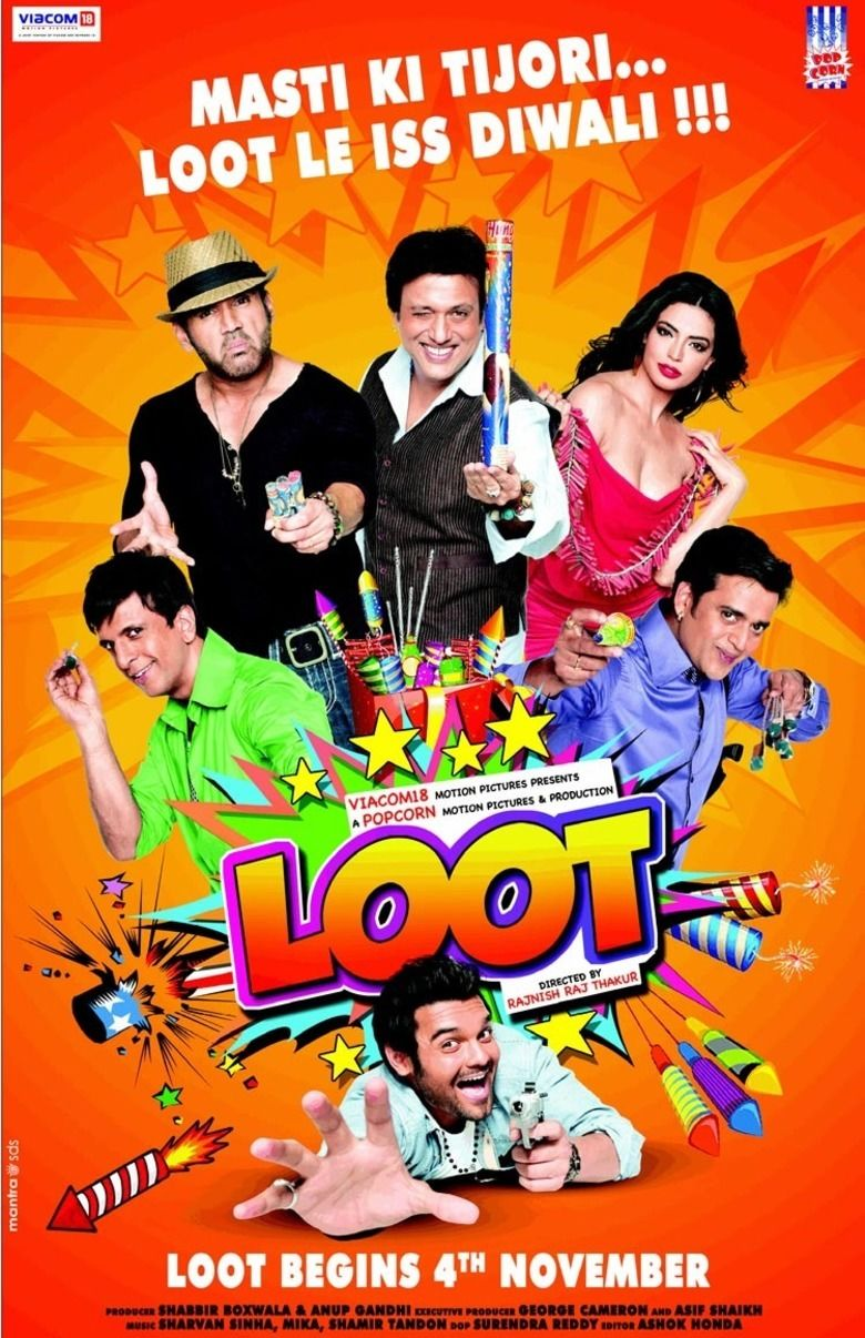Loot (2011 film) movie poster