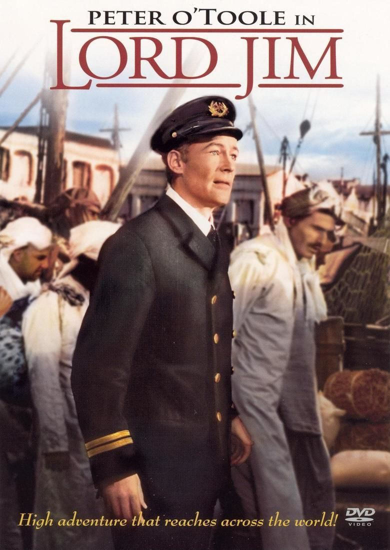 Lord Jim (1965 film) movie poster