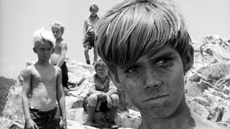Lord of the Flies (1963 film) movie scenes