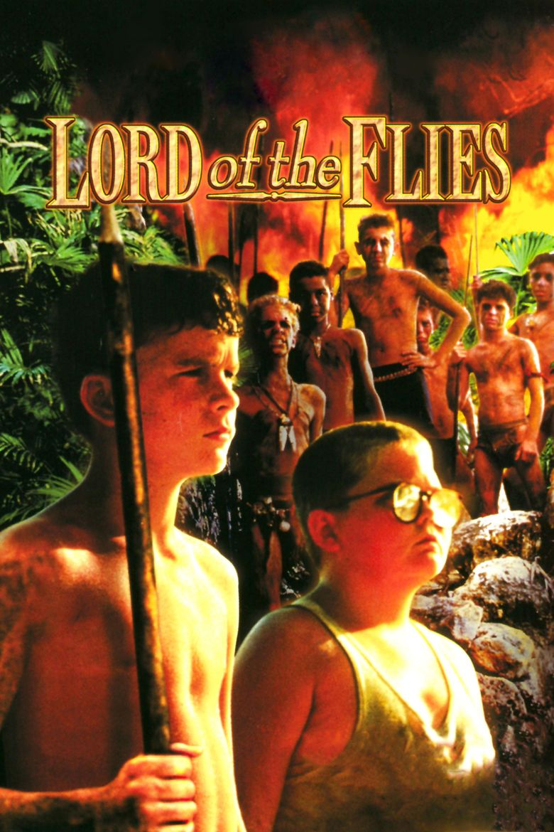 Lord of the Flies (1990 film) movie poster