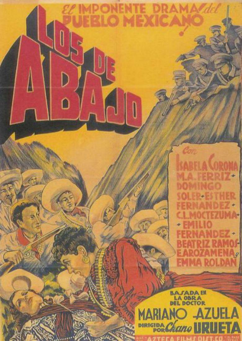 Los de abajo (film) movie poster