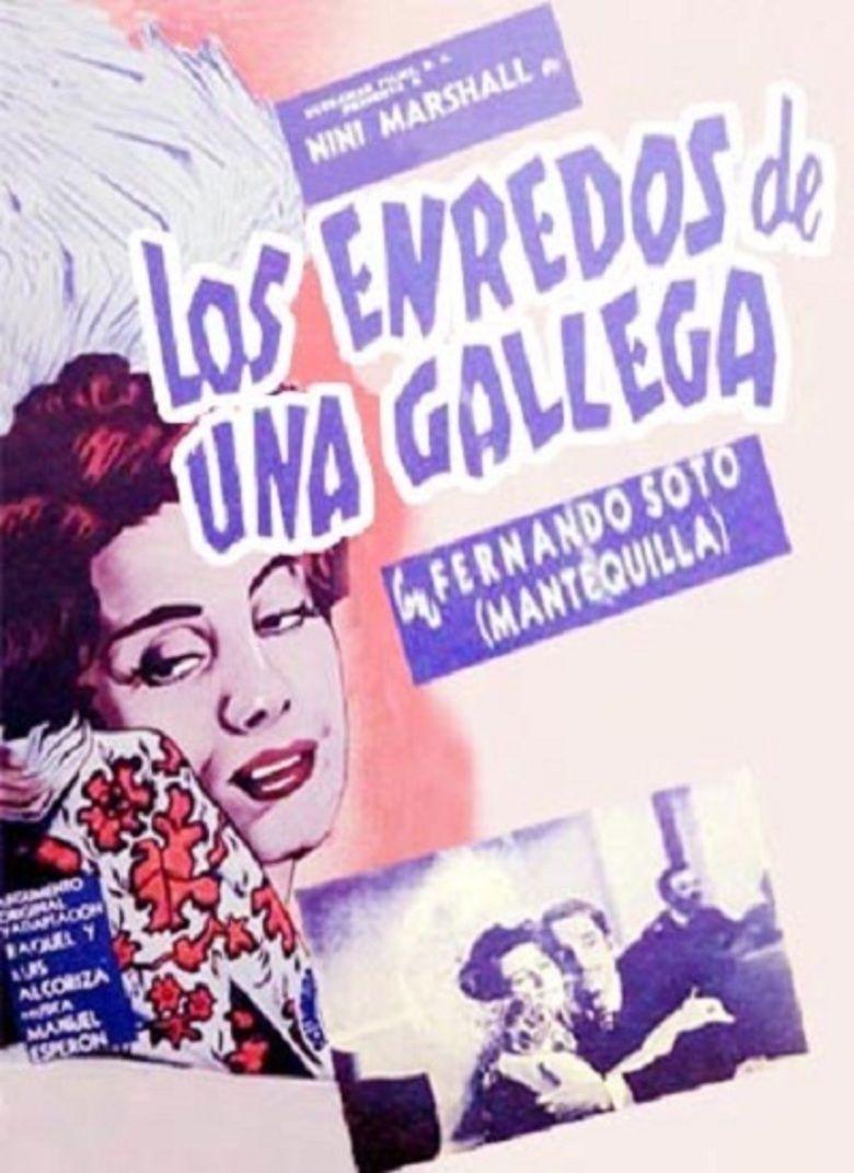 Los enredos de una gallega movie poster