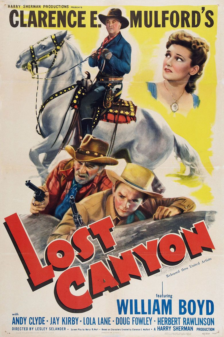 Lost Canyon movie poster