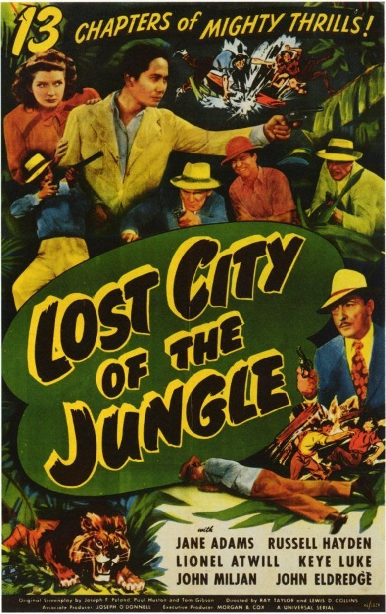 Lost City of the Jungle movie poster