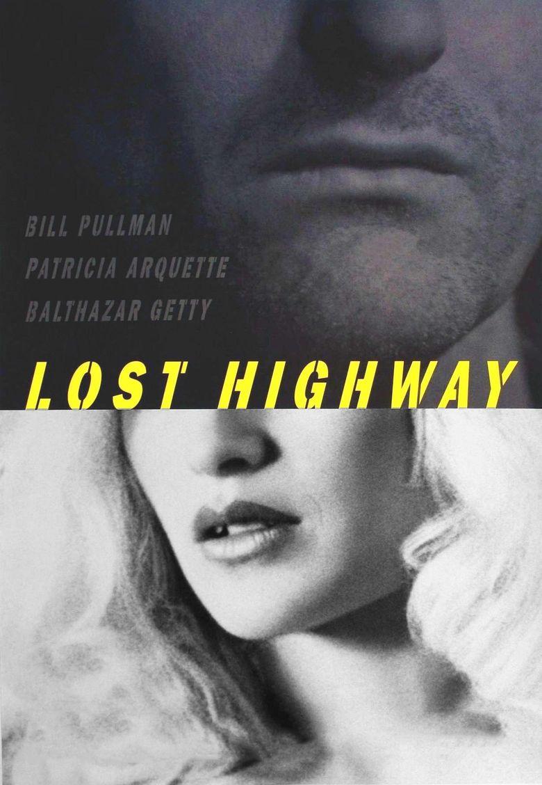 Lost Highway (film) movie poster