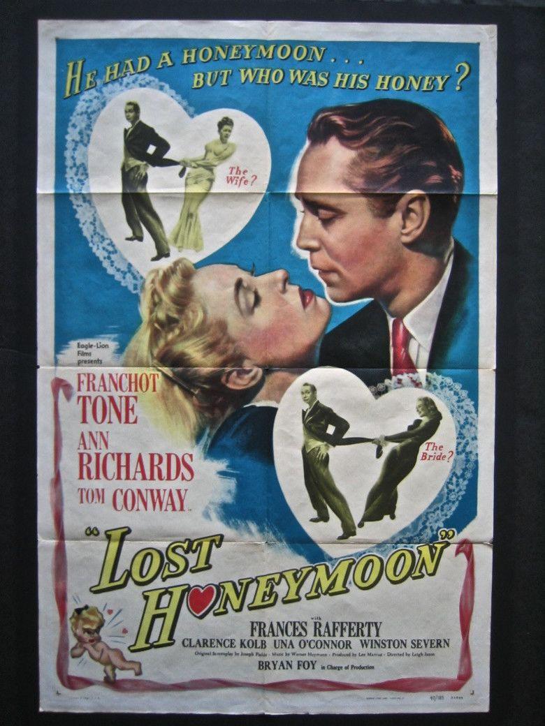 Lost Honeymoon movie poster