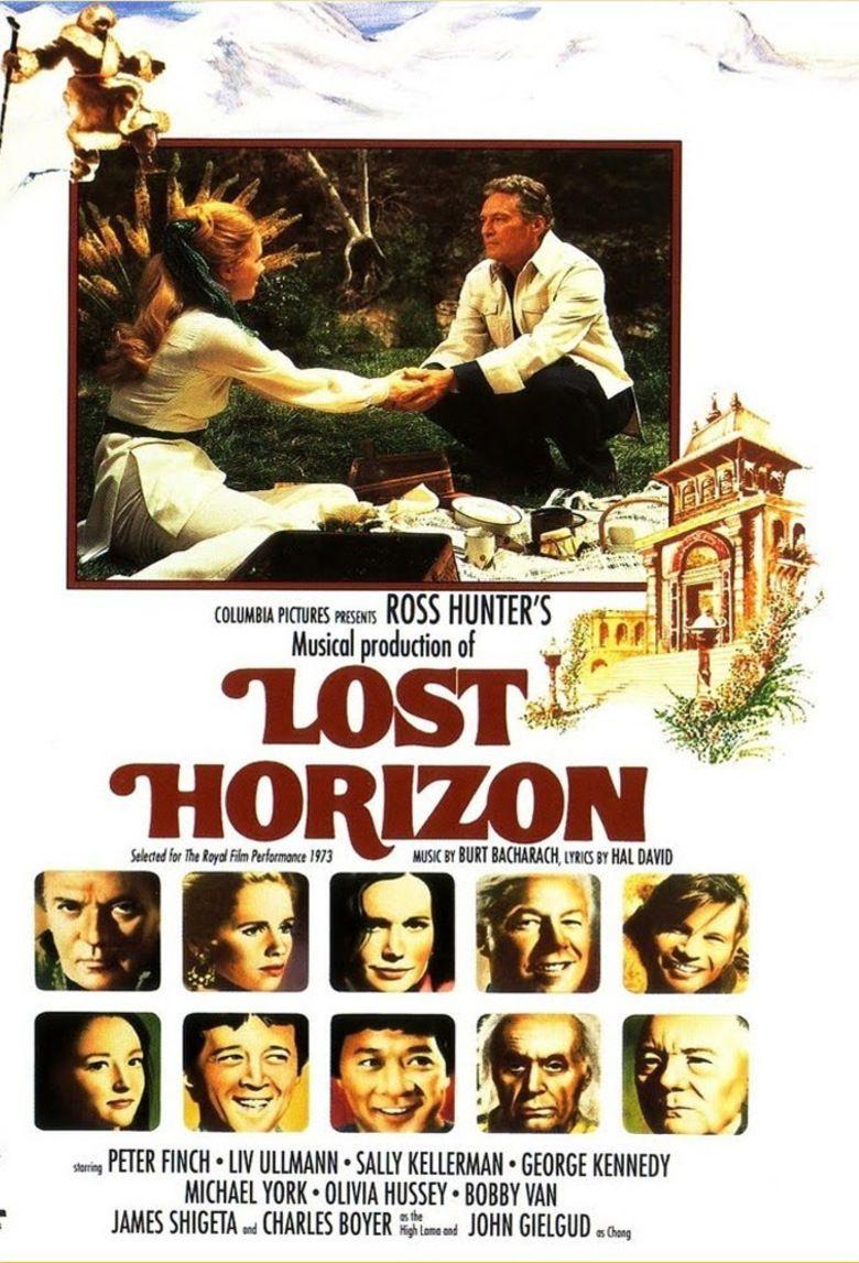 Lost Horizon (1973 film) movie poster