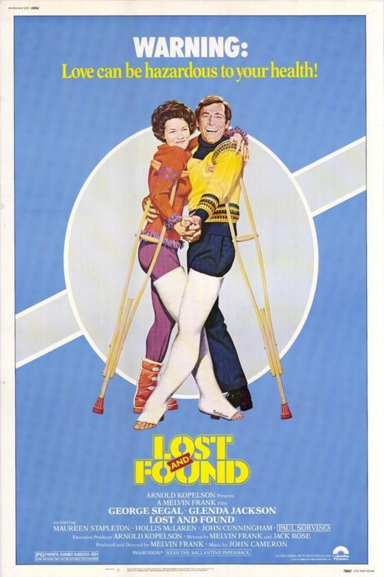 Lost and Found (1979 film) movie poster