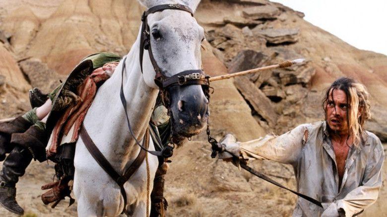 Lost in La Mancha movie scenes