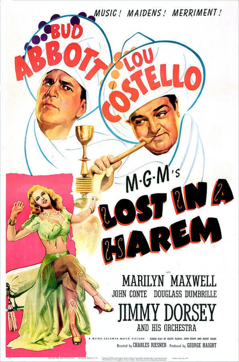 Lost in a Harem movie poster