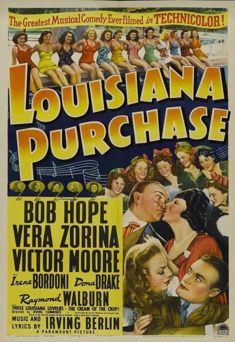 Louisiana Purchase (film) movie poster