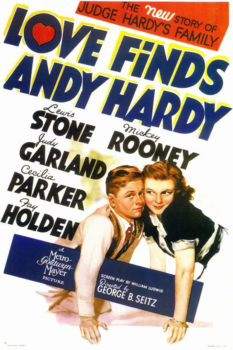 Love Finds Andy Hardy movie poster