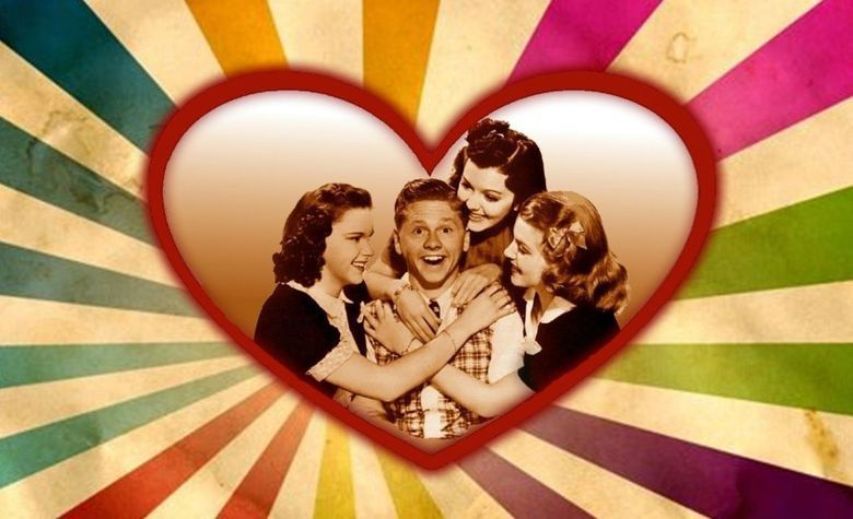 Love Finds Andy Hardy movie scenes