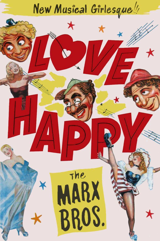 Love Happy movie poster