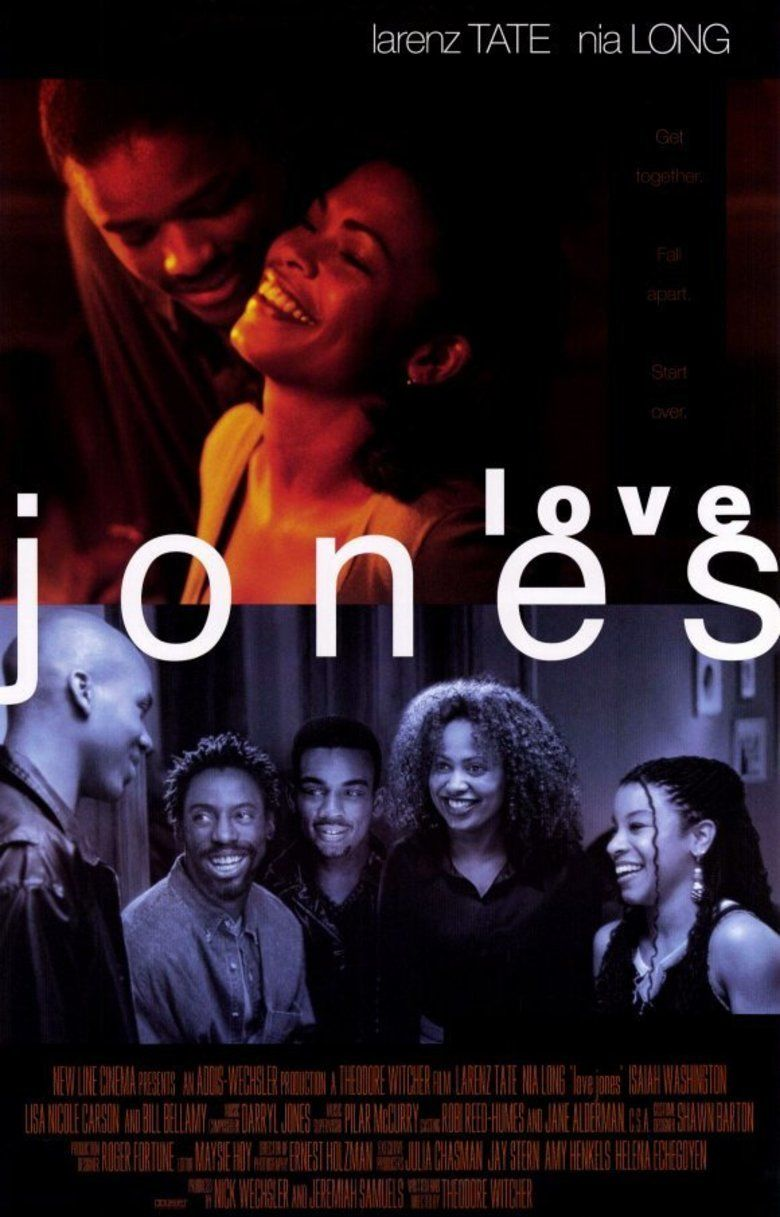 Love Jones (film) movie poster