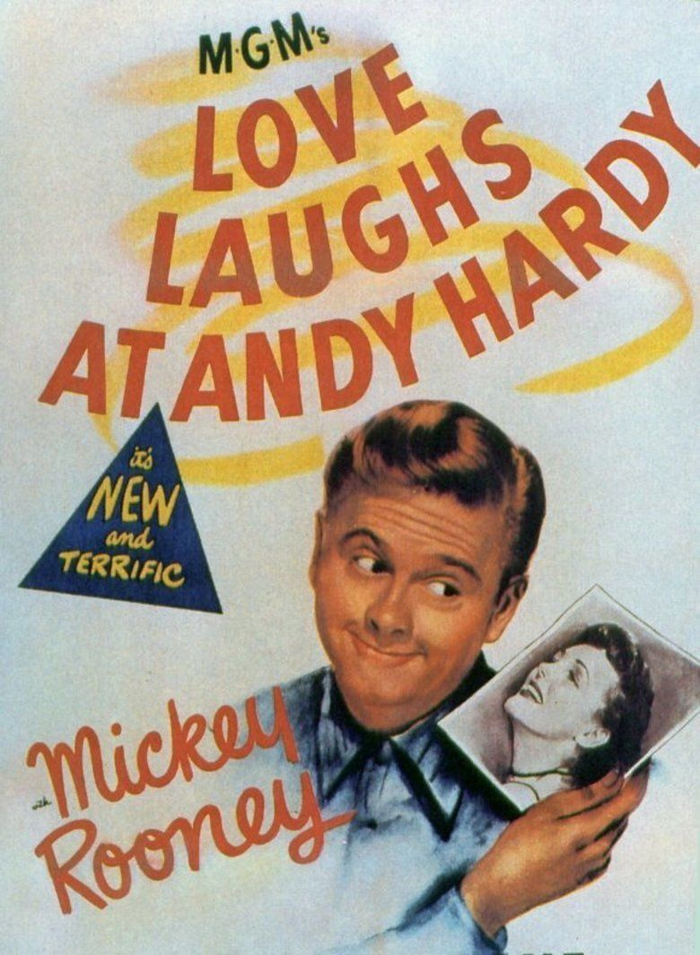 Love Laughs at Andy Hardy movie poster
