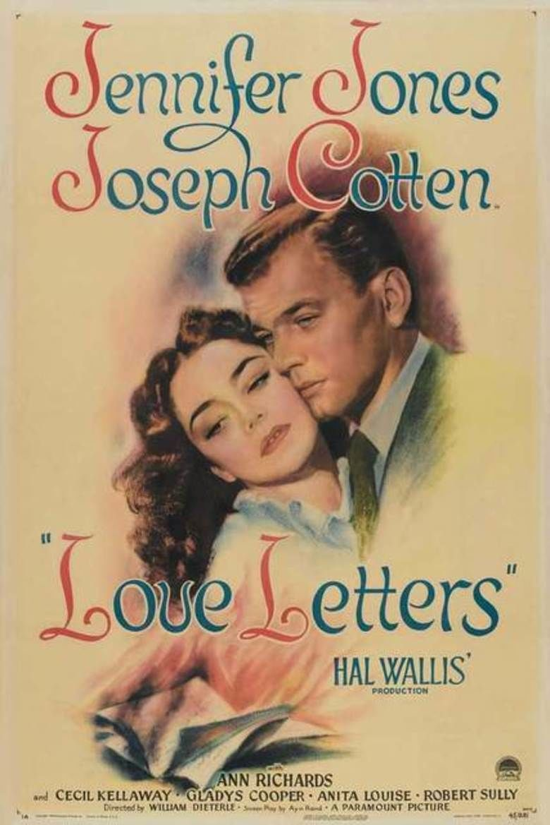 Love Letters (1945 film) movie poster