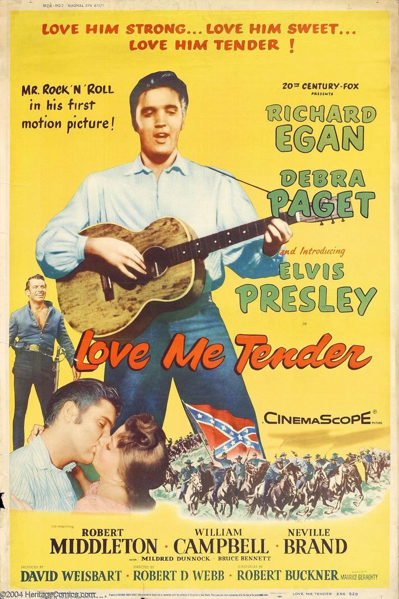 Love Me Tender (film) movie poster