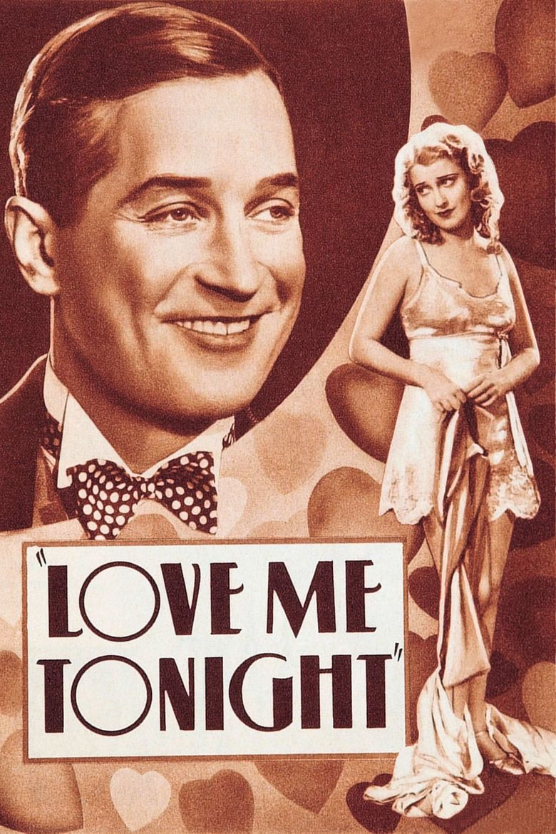Love Me Tonight movie poster