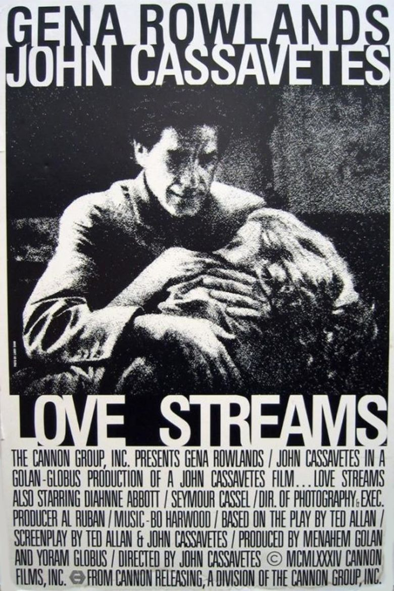 Love Streams movie poster