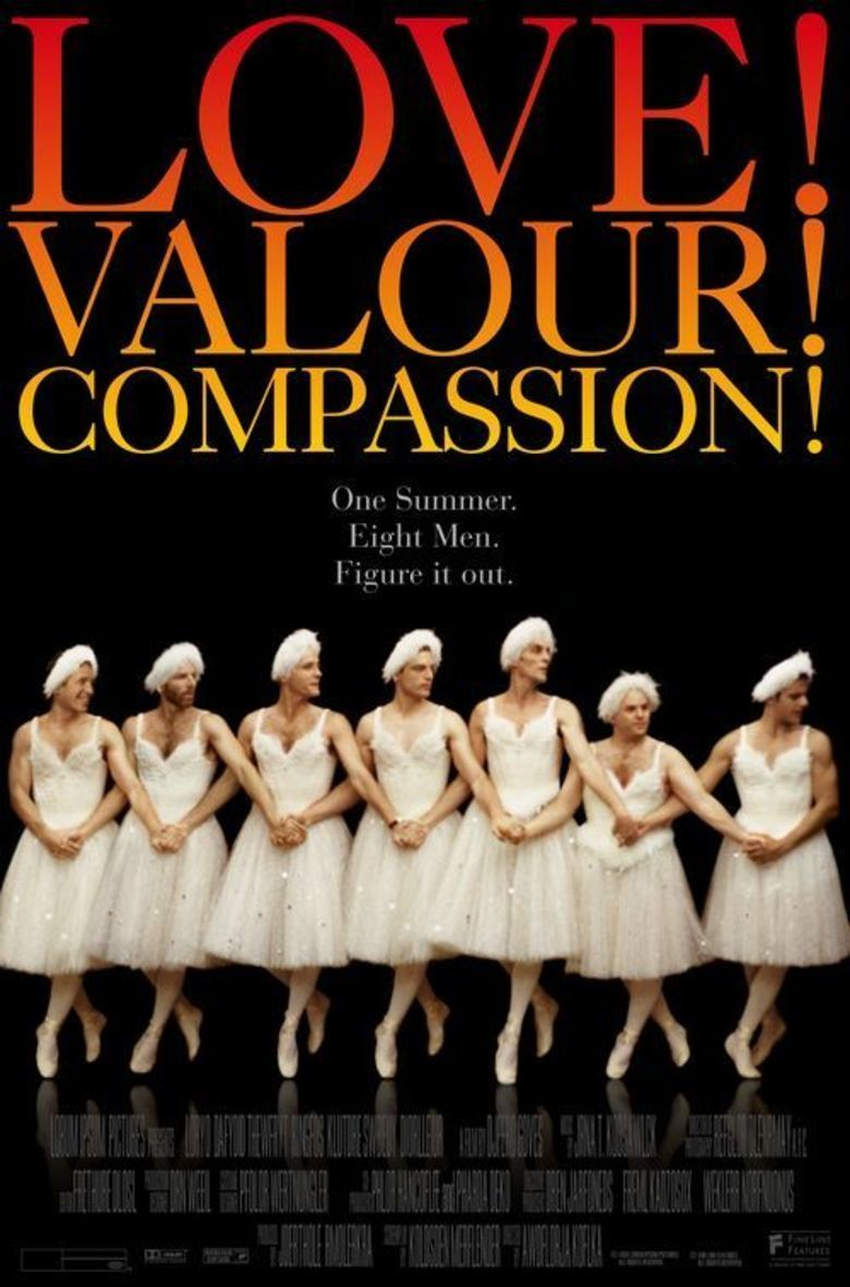 Love! Valour! Compassion! movie poster