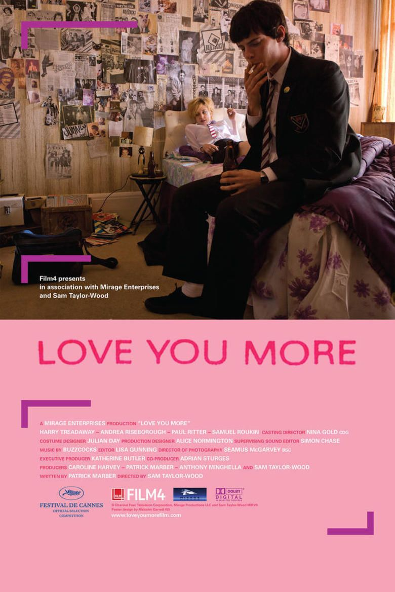 Love You More (film) movie poster