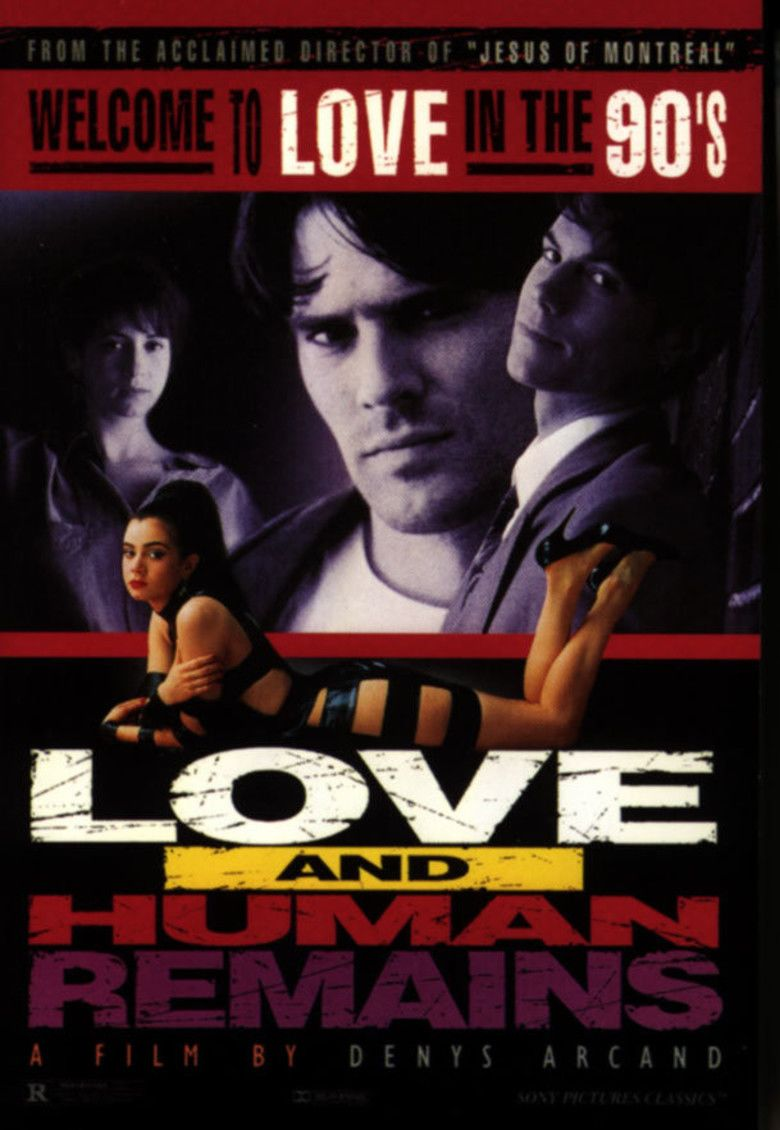 Love and Human Remains movie poster