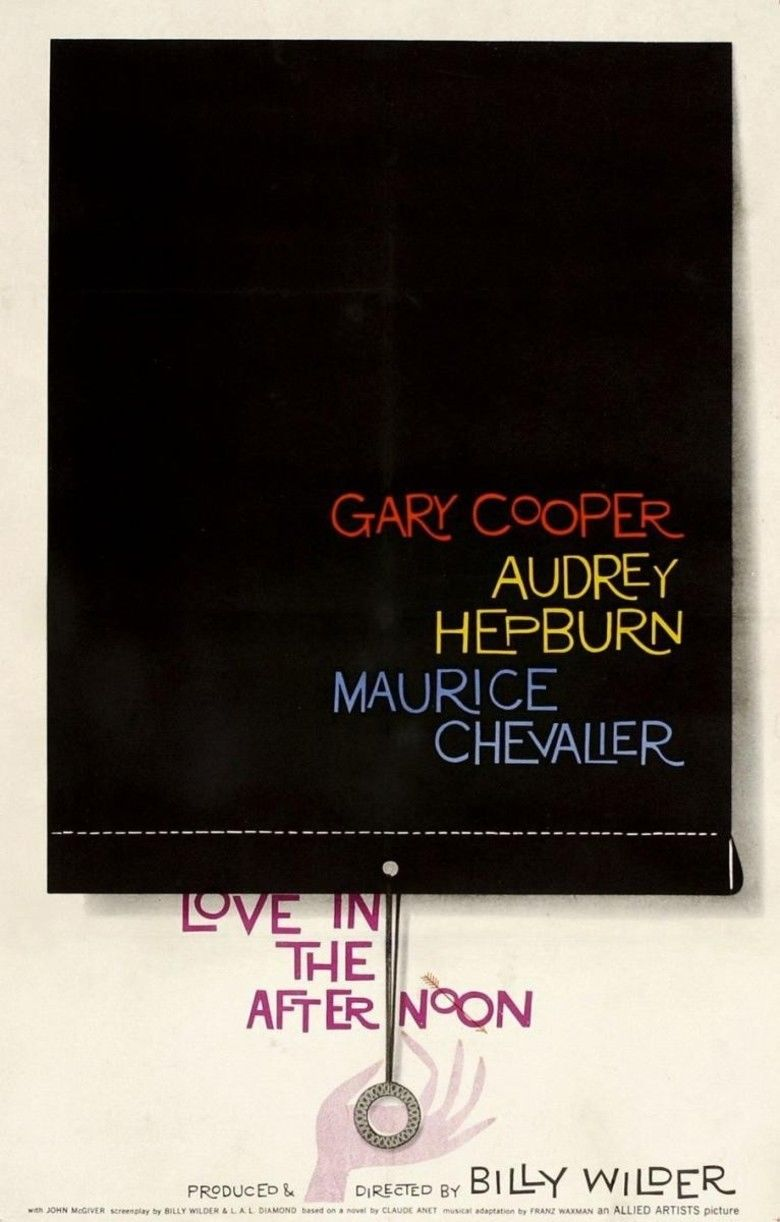 Love in the Afternoon (1957 film) movie poster