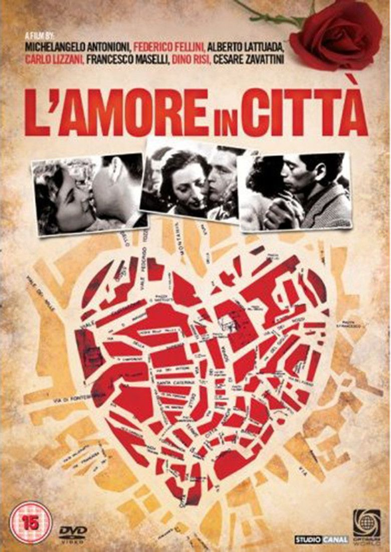Love in the City (1953 film) movie poster