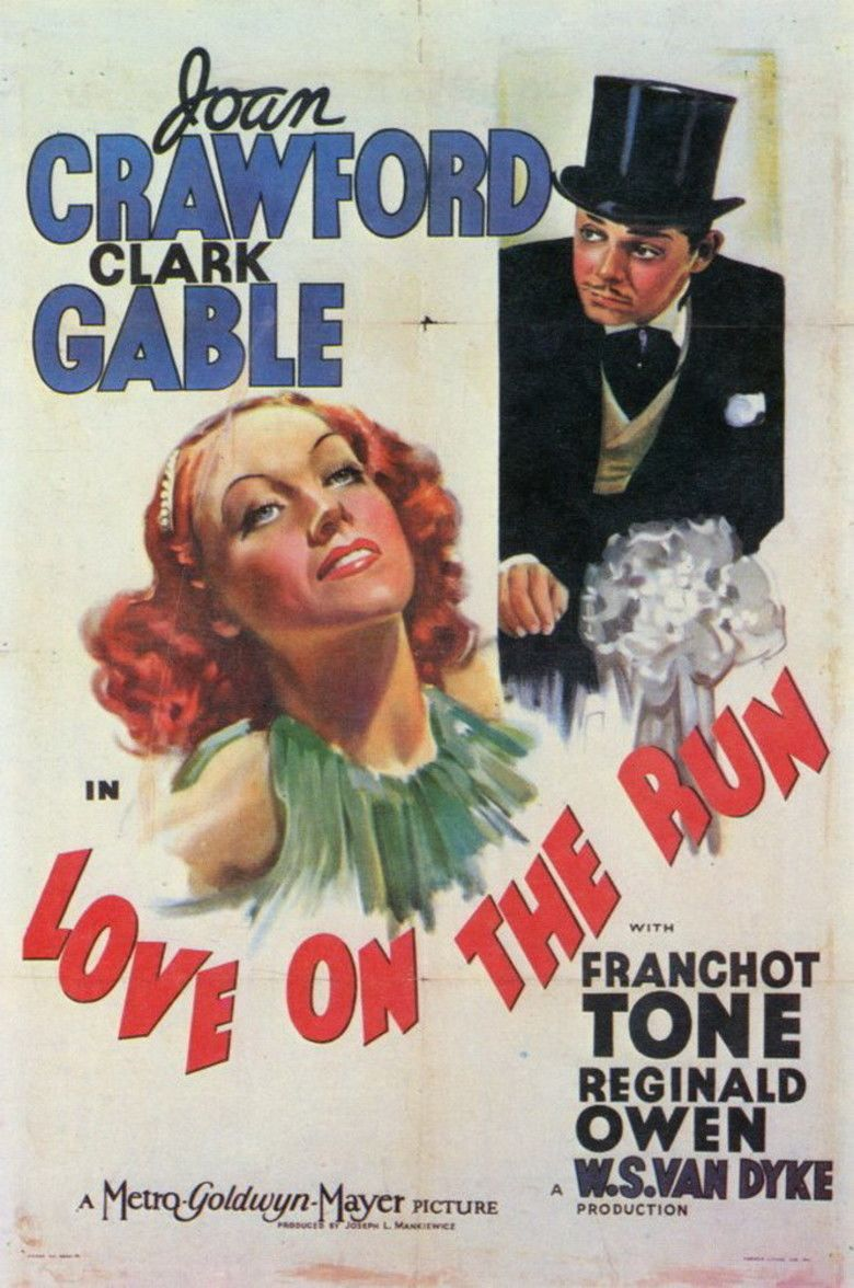 Love on the Run (1936 film) movie poster