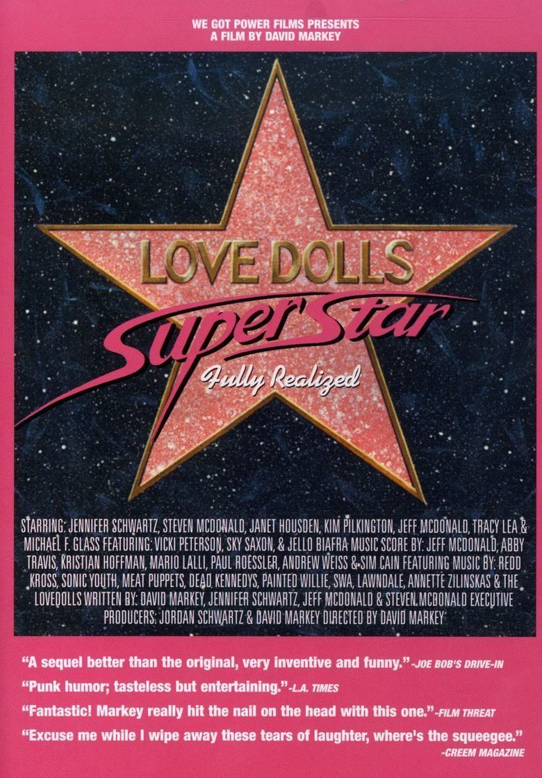 Lovedolls Superstar (film) movie poster