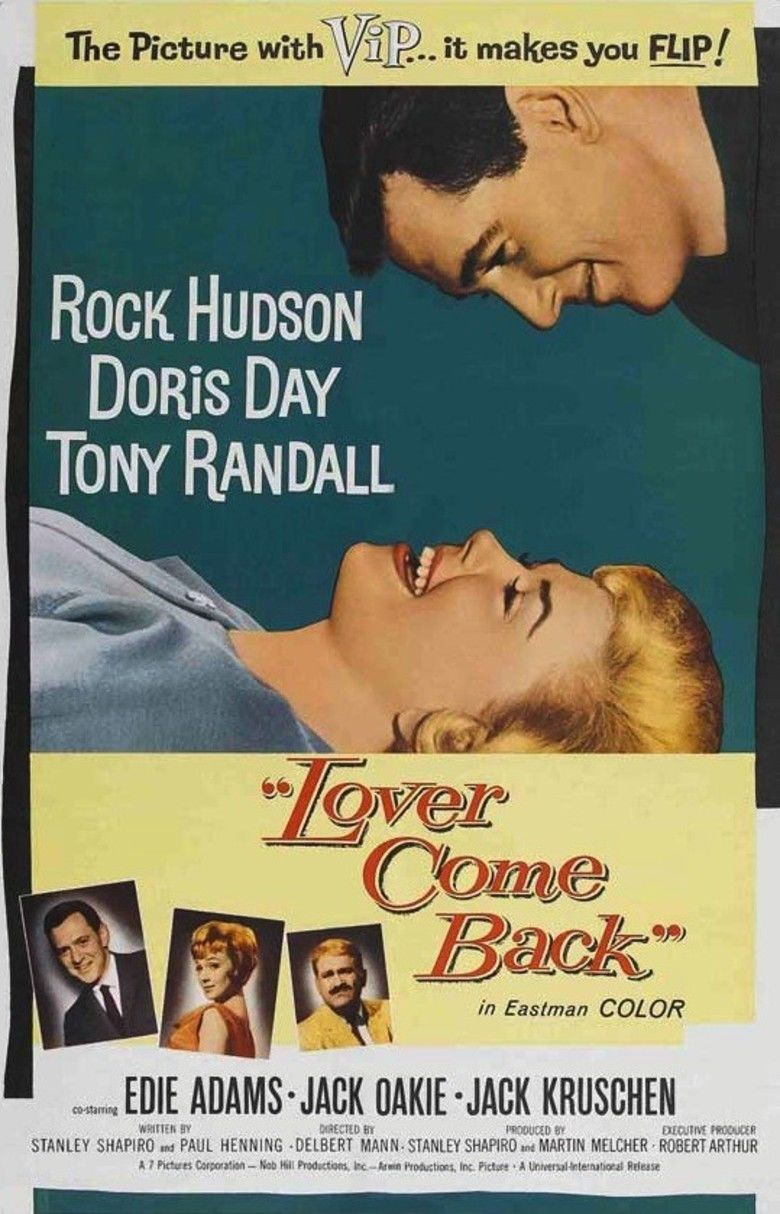 Lover Come Back (1961 film) movie poster