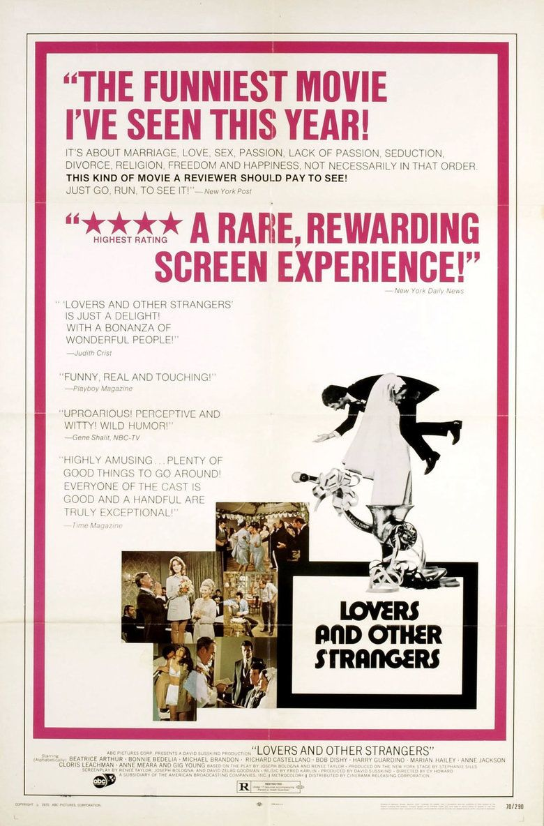 Lovers and Other Strangers movie poster