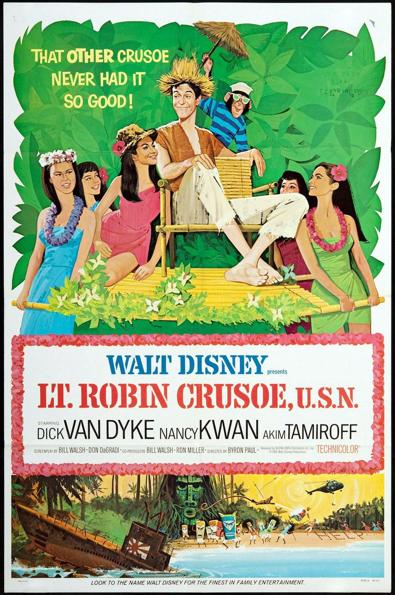 Lt Robin Crusoe, USN movie poster