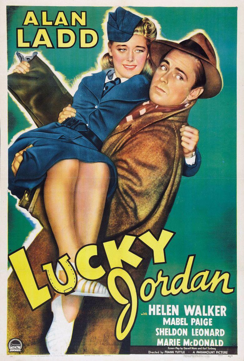 Lucky Jordan movie poster