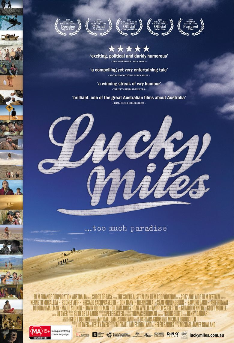 Lucky Miles movie poster