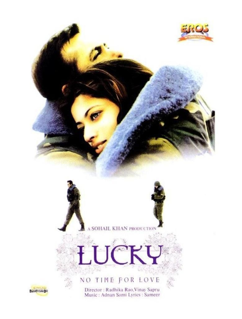 Lucky: No Time for Love movie poster