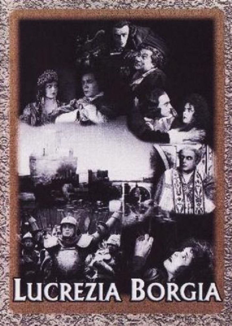 Lucrezia Borgia (1922 film) movie poster