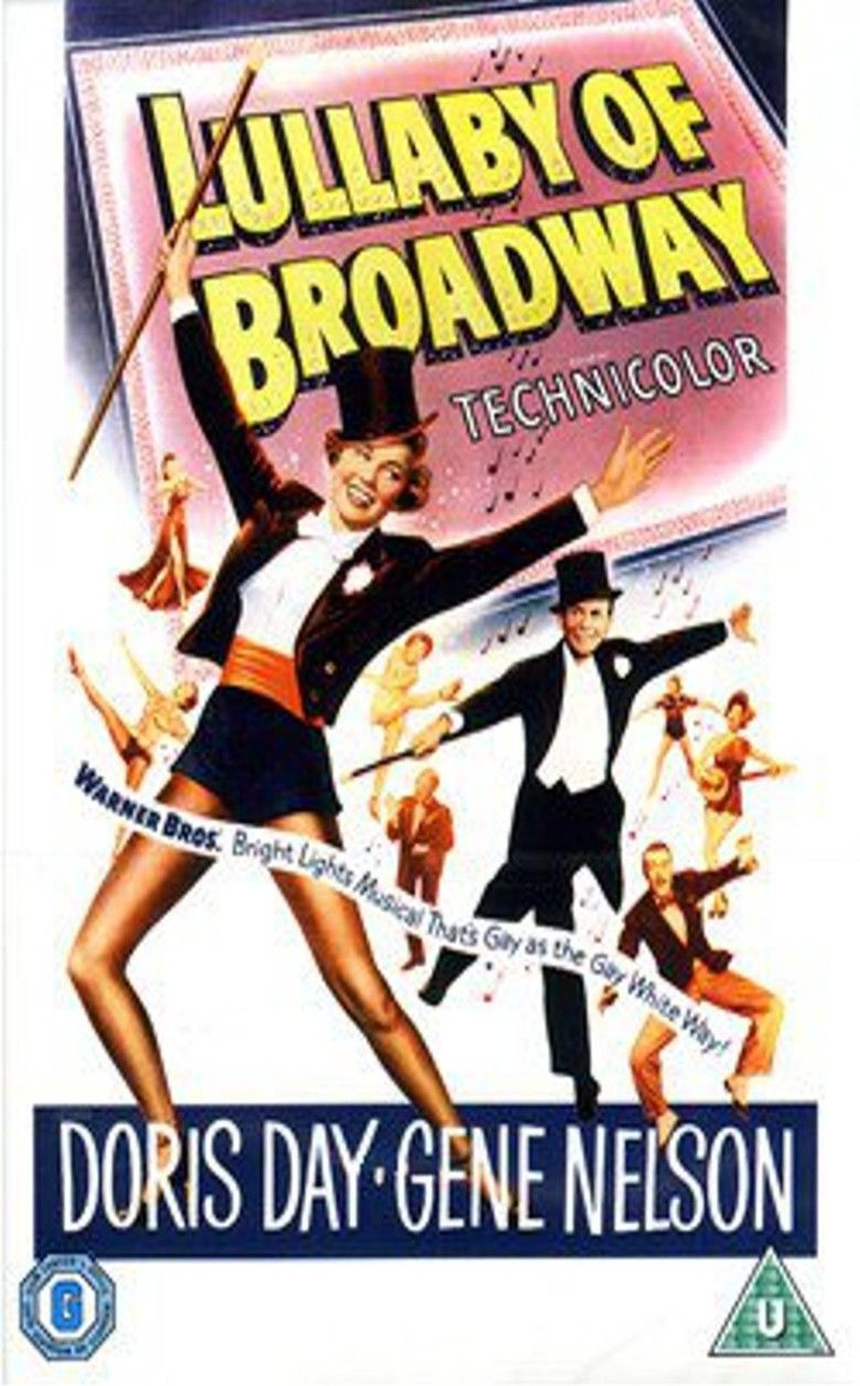 Lullaby of Broadway (film) movie poster