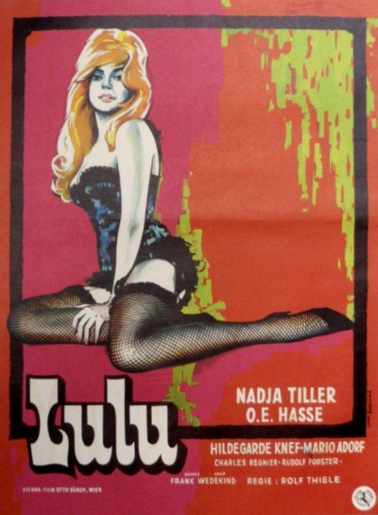 Lulu (1962 film) movie poster