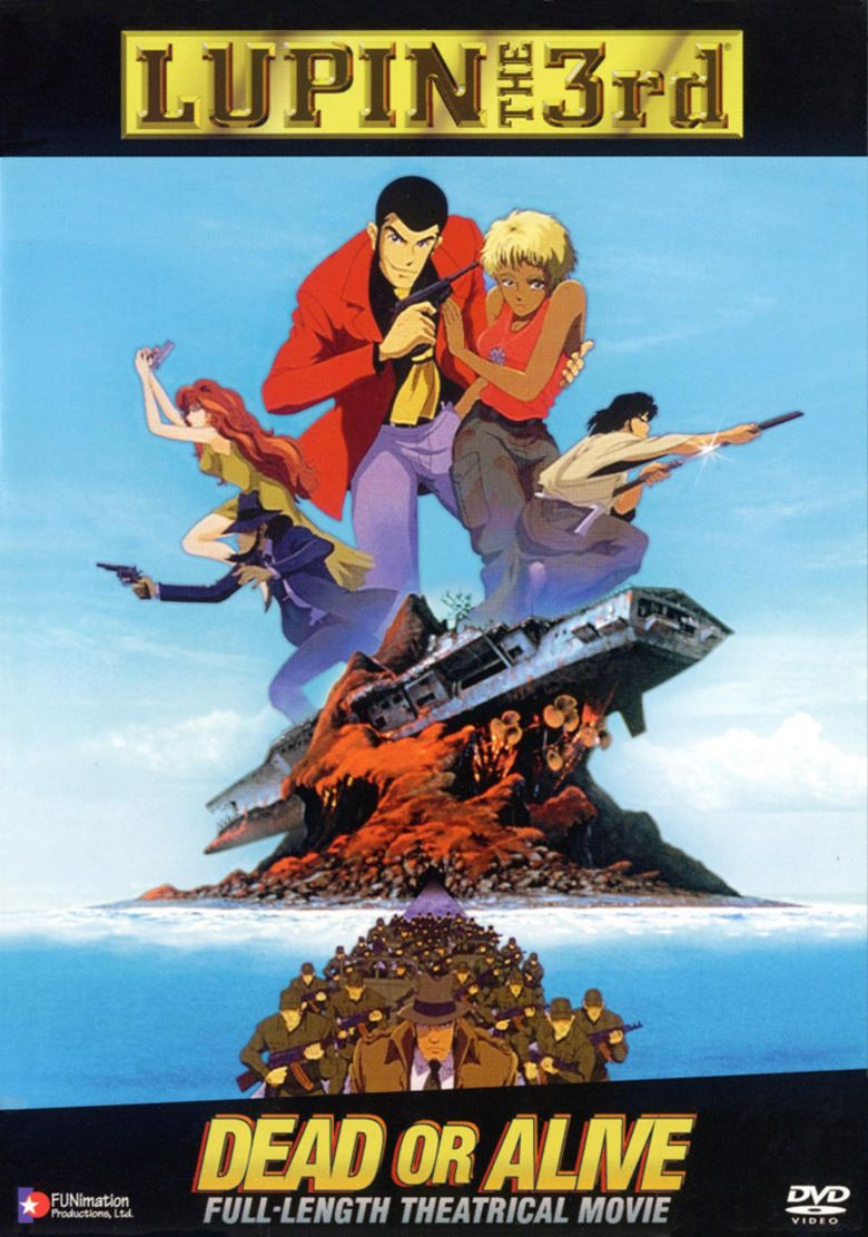 Lupin III: Dead or Alive movie poster
