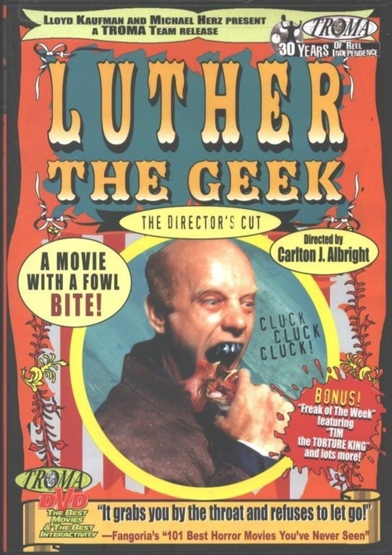 Luther the Geek movie poster