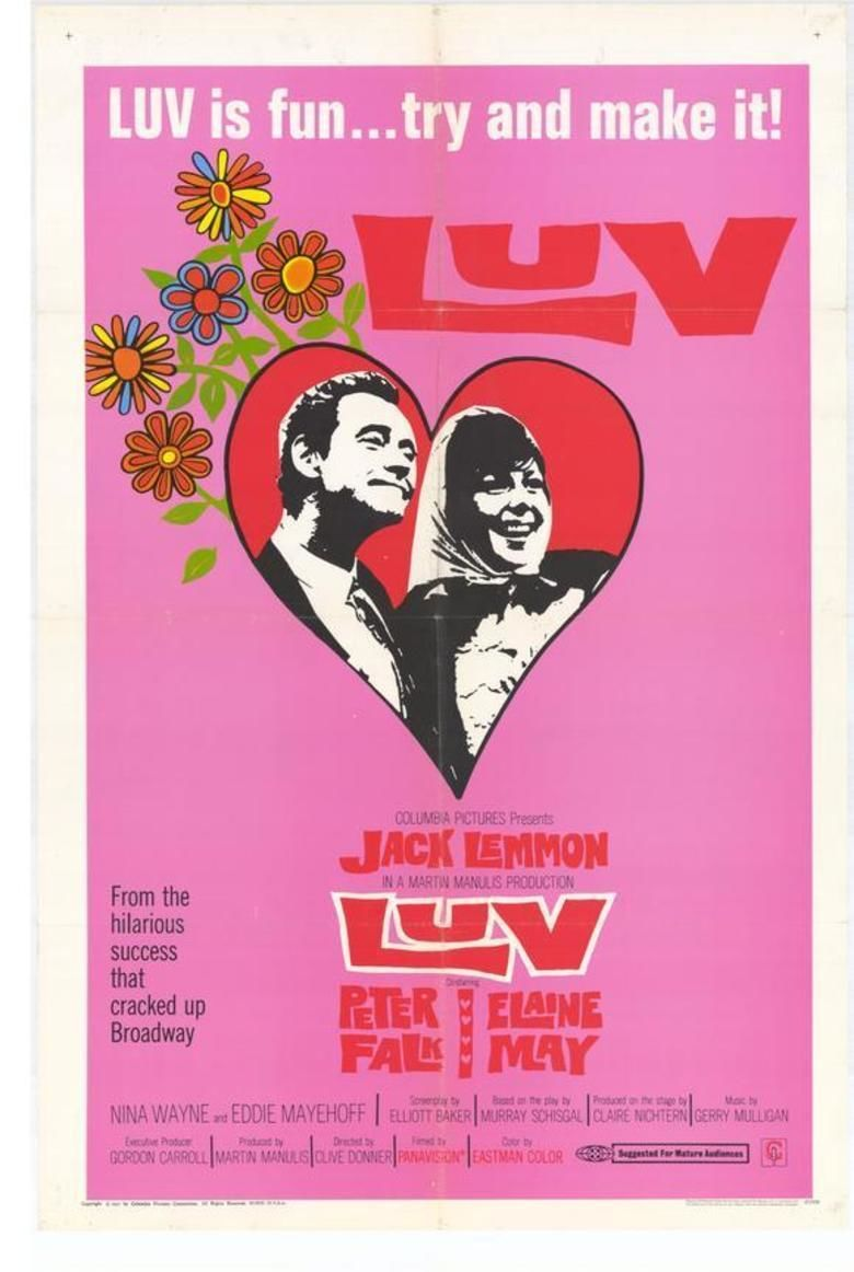 Luv (film) movie poster