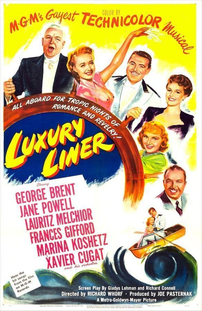 Luxury Liner (film) movie poster