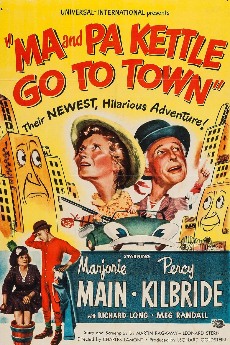 Ma and Pa Kettle Go to Town movie poster