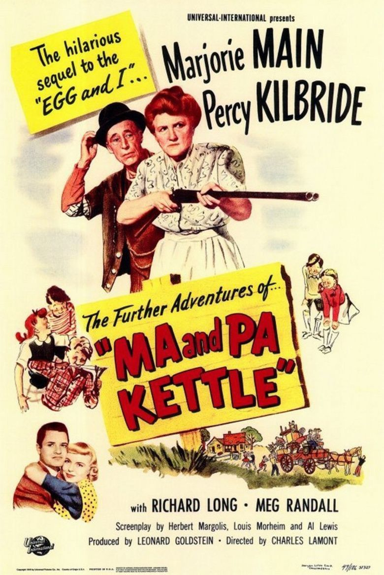 Ma and Pa Kettle (film) movie poster
